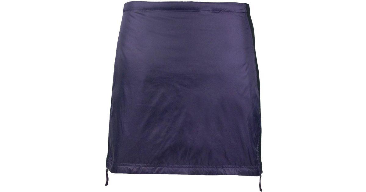 ca07daa9d7 SKHOOP Rebecka Down Skirt in Blue - Lyst