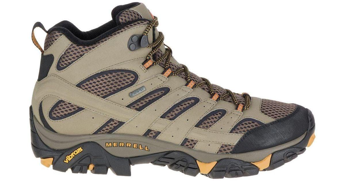 c336ecdb0e Merrell - Brown Moab 2 Mid Gtx Hiking Boot for Men - Lyst