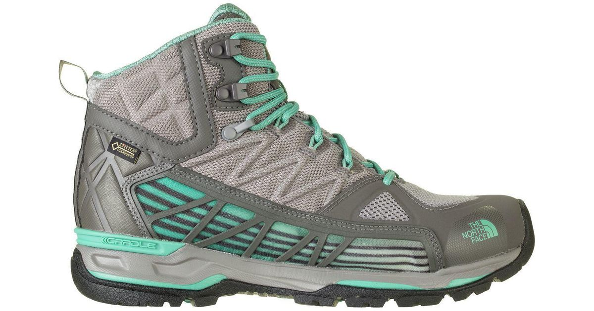 new arrival 200bc 0f8dd The North Face - Green Ultra Gtx Surround Mid Hiking Boot - Lyst