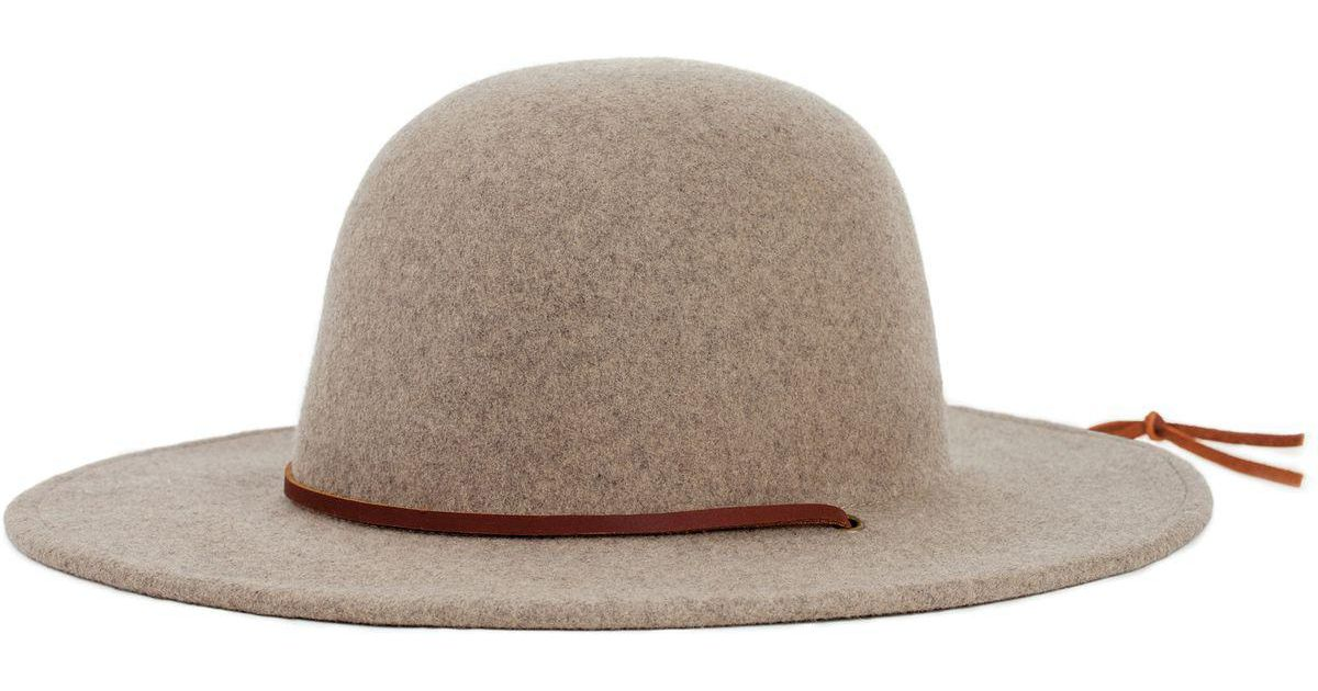 1ebb5ceb38d71 ... germany lyst brixton tiller hat in natural 70062 5c0b7