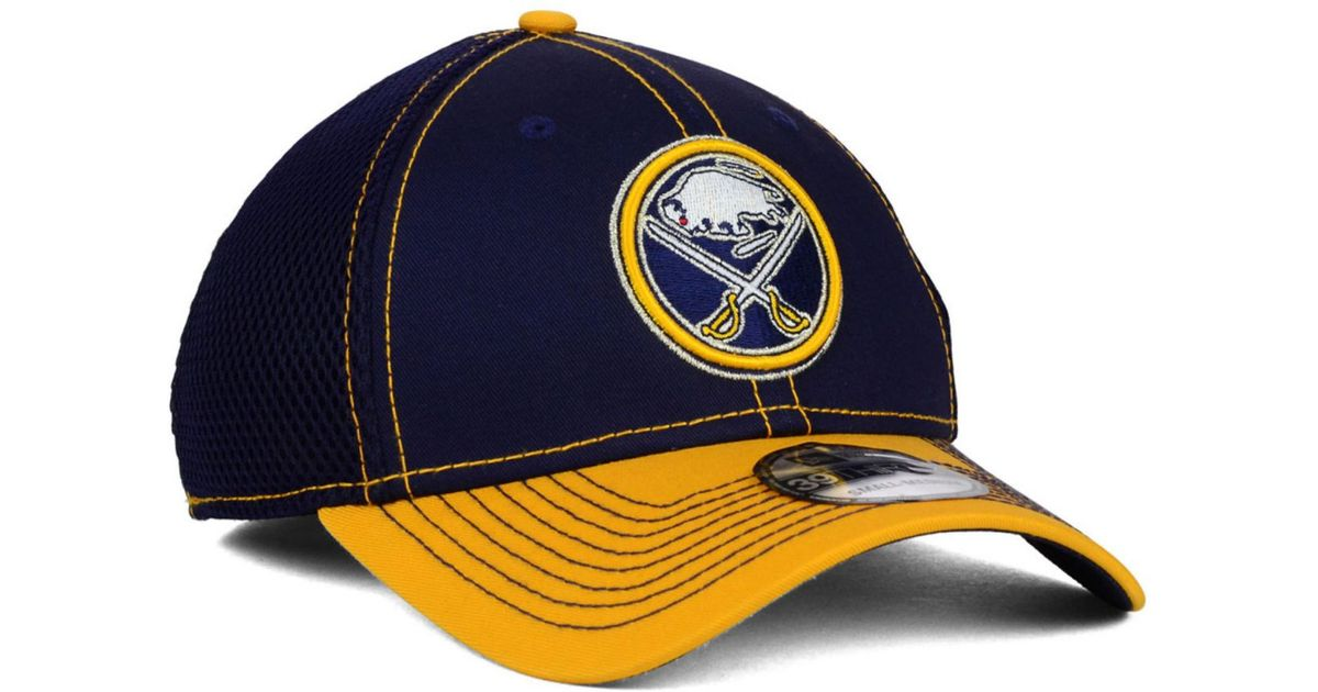 quality design e74d0 f778e Lyst - Ktz Buffalo Sabres 2-tone Neo 39thirty Cap in Yellow for Men