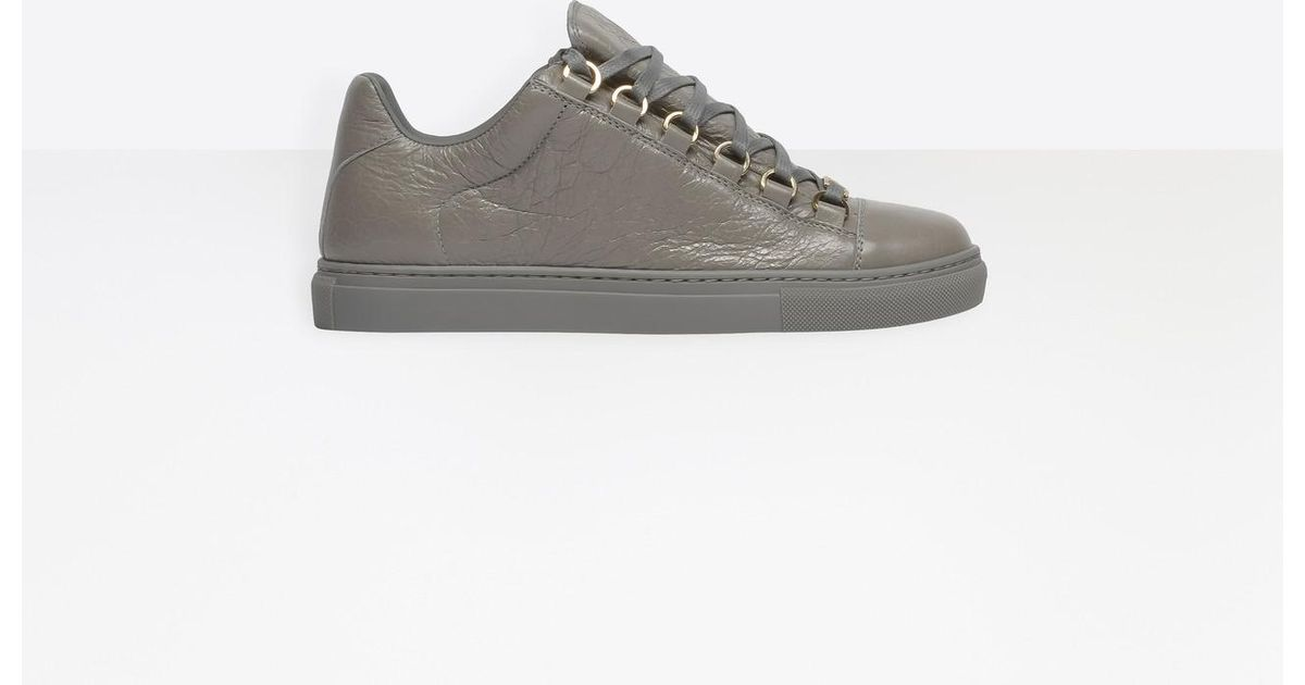 42072d639b108 Balenciaga Low Sneakers in Gray - Lyst