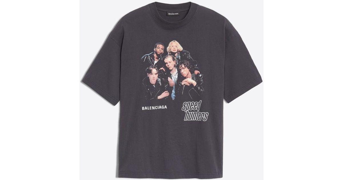 4216d5e06339 Lyst - Balenciaga Speedhunters T-shirt for Men