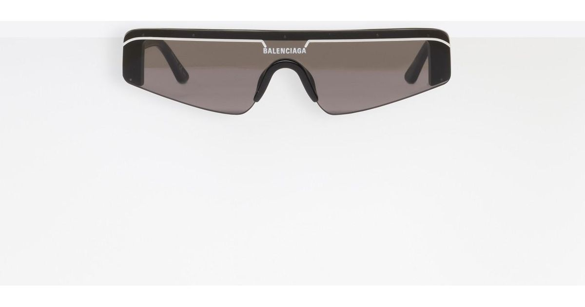 Sunglasses For Black Men Balenciaga Lyst Rectangle Ski In qYaxt4vCw