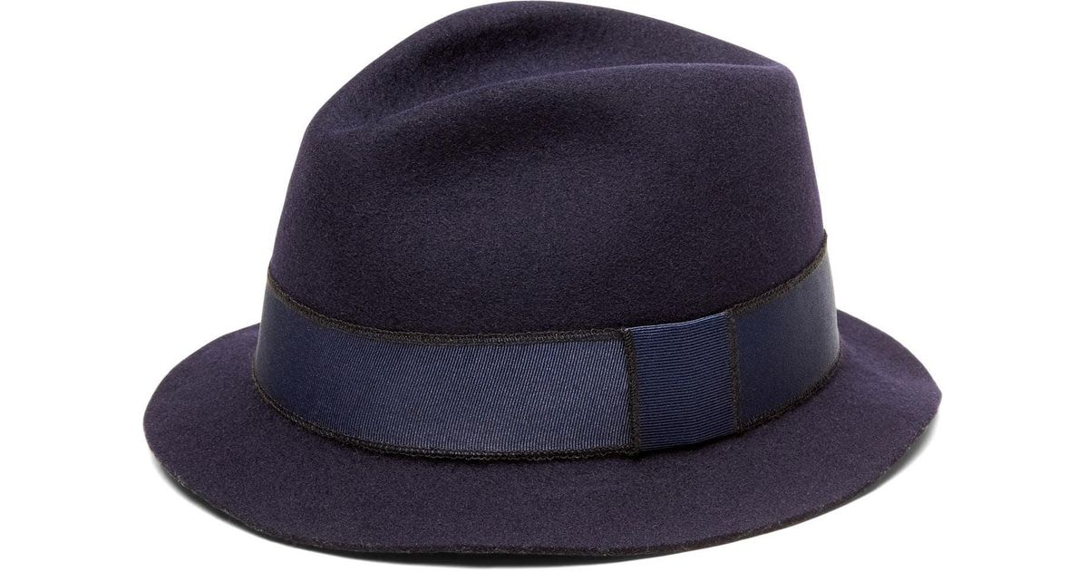 9b61fdf3e Lyst - Banana Republic Artesano | Lin Wool Panama Hat in Blue for Men