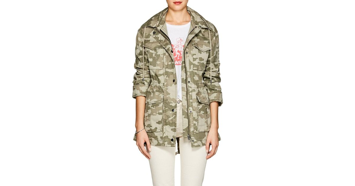54718c6785d2d Lyst - ATM Camouflage Cotton Field Jacket in Green