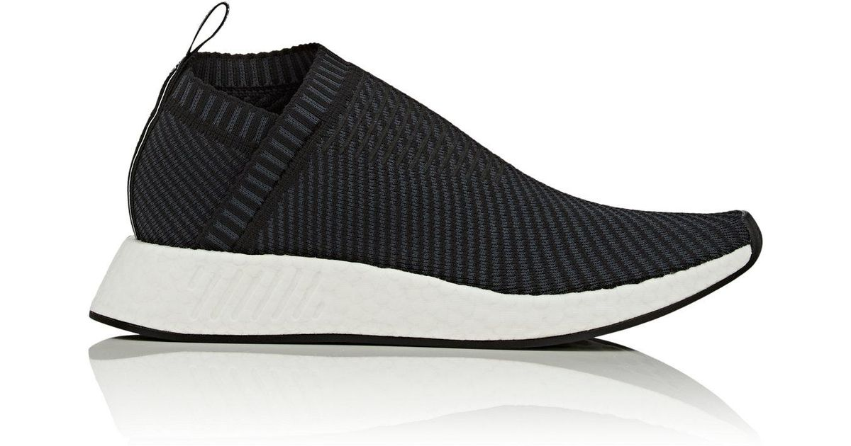 cheap for discount 1448f 41bbb Adidas - Black Nmd City Sock 2 Primeknit Sneakers for Men - Lyst