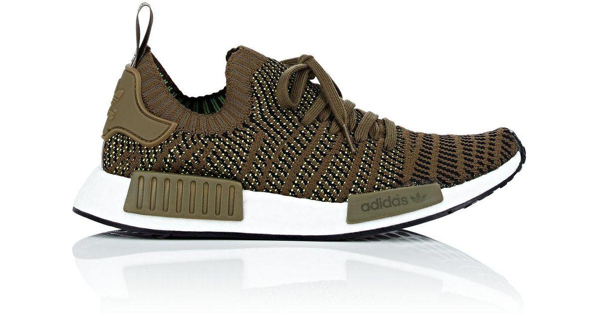 32f92cef9208 Lyst - adidas Nmd R1 Stlt Primeknit Sneakers in Green for Men