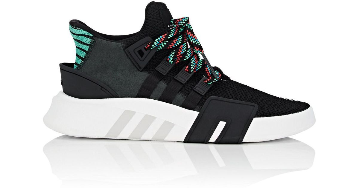 Lyst - adidas Eqt Basketball Adv Sneakers in Black for Men d6392ef54