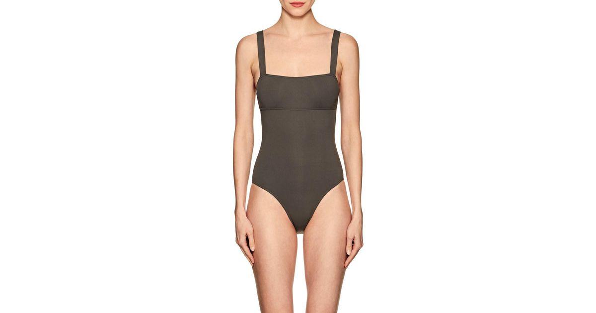 ab084d0333 Eres Alibi One-piece Swimsuit in Black - Lyst