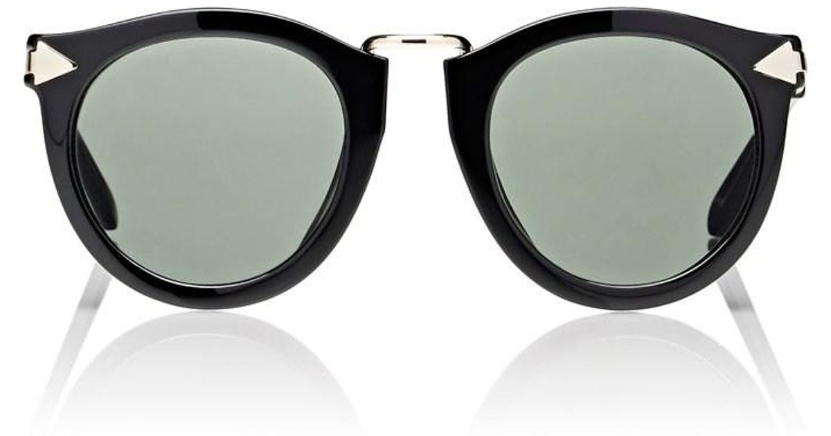 66abca59e8b5 Karen Walker Alternate Fit Harvest Sunglasses - Lyst