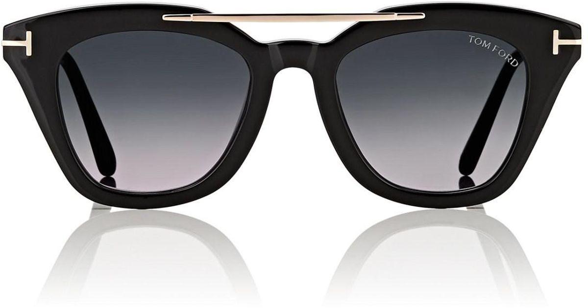5bd8bcc34e85 Lyst - Tom Ford Anna Sunglasses in Black for Men