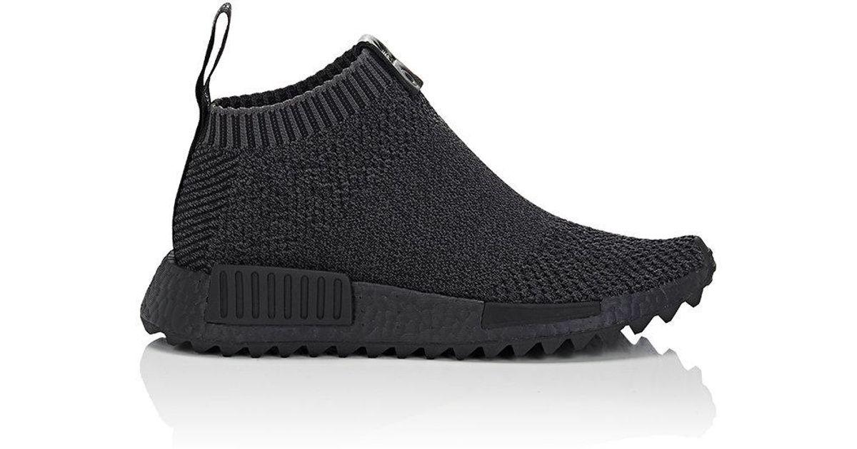 d5e79a5343f1a Lyst - adidas Originals Nmd City Sock 1 Primeknit Sneakers in Black