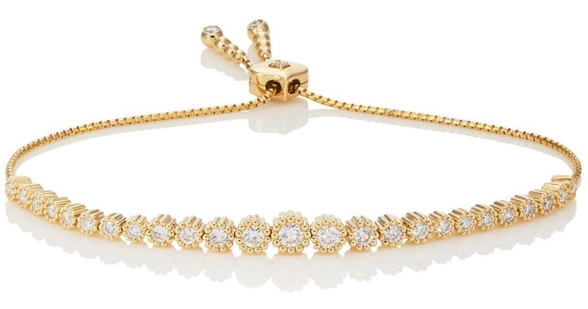 Sara Weinstock Womens Isadora Floret Bolo Bracelet hkx0pDV