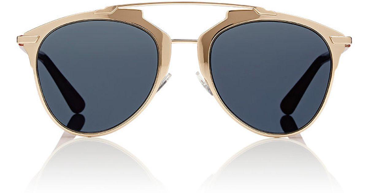 de78c73a980 Dior Reflected Sunglasses in Metallic - Lyst