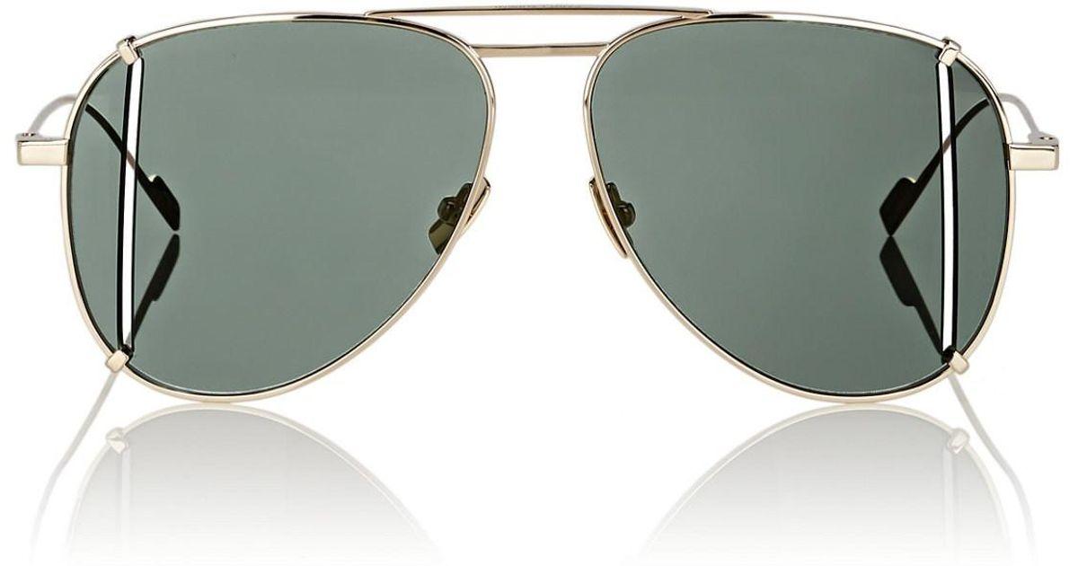 de sol de Saint gafas Gafas con Laurent corte 4Zdgq4pnw