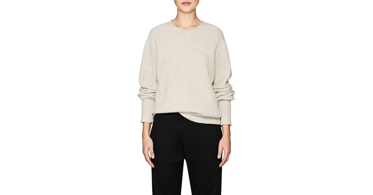 883e5d3148d5c Lyst - The Row Haily Cashmere in Gray