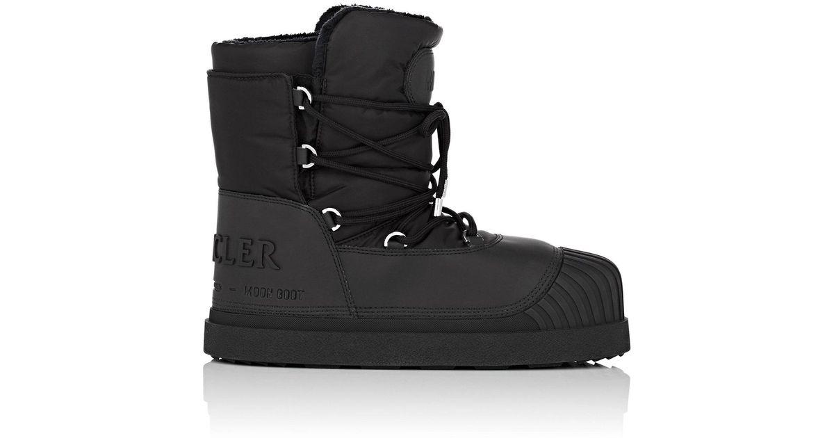 d3e72d29b03e Lyst - Moncler Uranus Snow Boots in Black