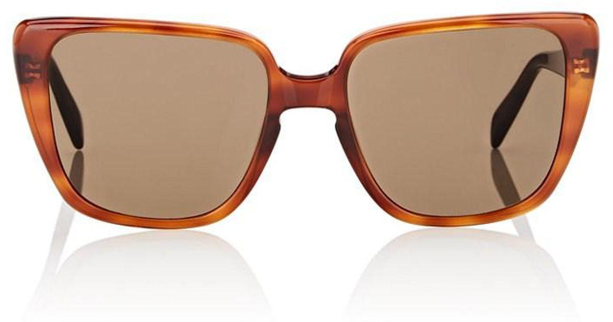 c9f7fdfa9dd Lyst - Céline Oversized Square Cat-eye Sunglasses