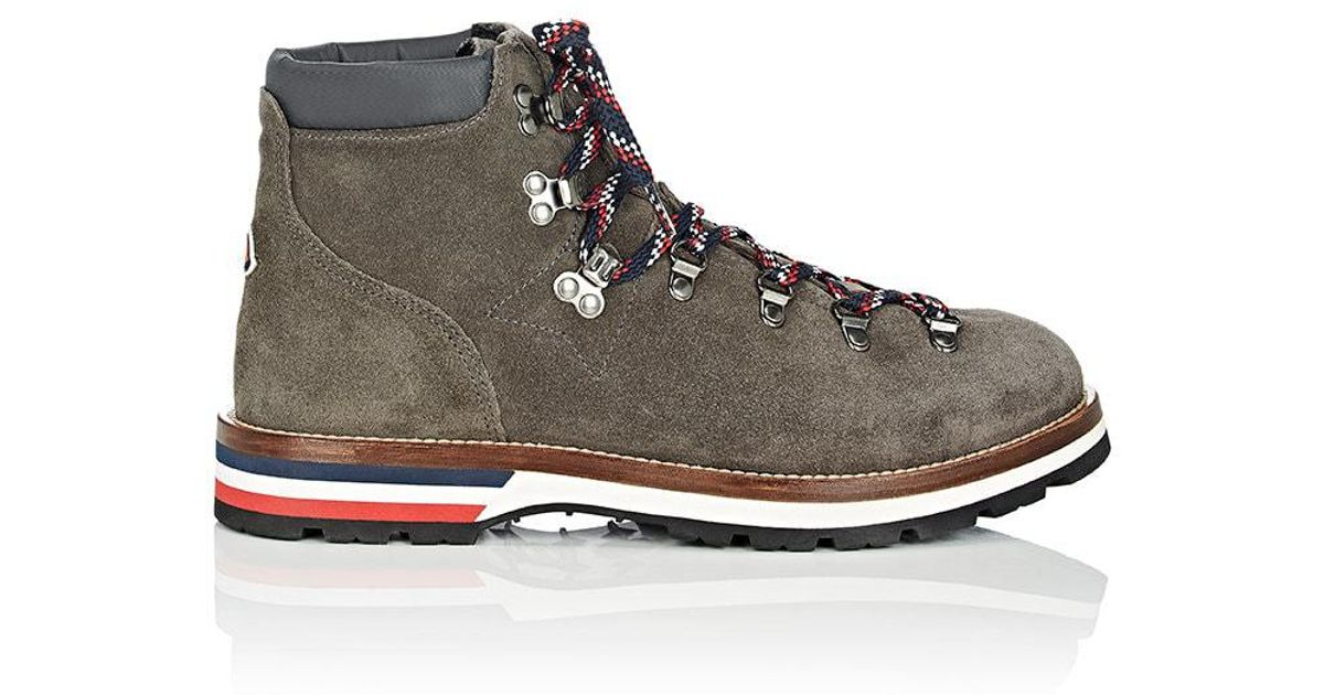 Moncler Suede Peak Boots in5maU