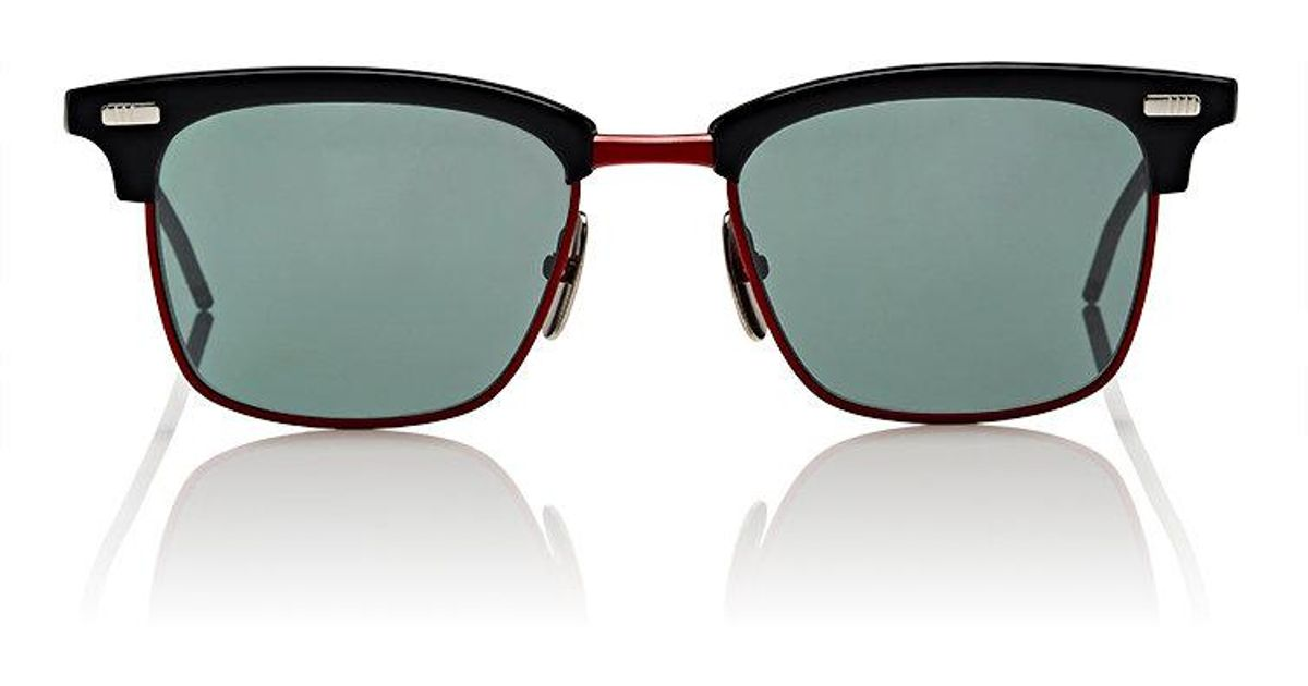 131c475abcb4 Lyst - Thom Browne Tb 711 Sunglasses in Green for Men