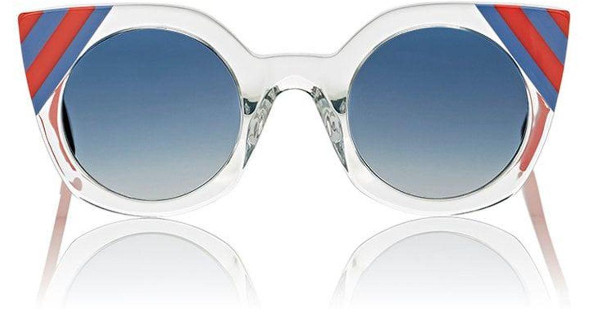 8decad128b29 Fendi Ff 0240 Sunglasses in Blue - Lyst