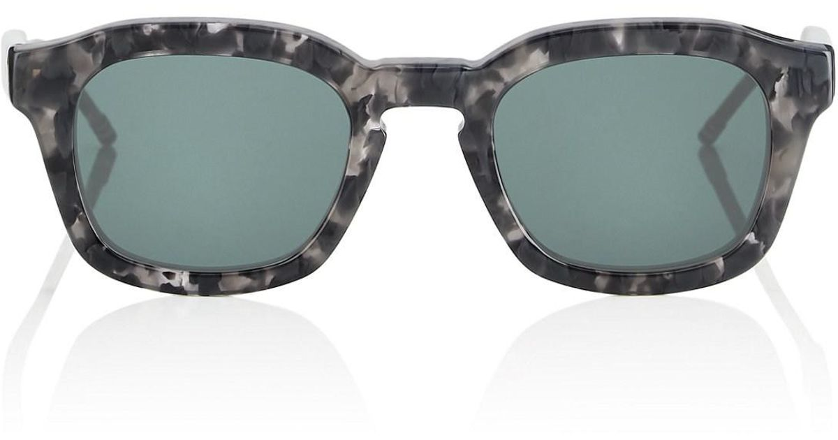 3f84ea557735 Lyst - Thom Browne Tb-412 Sunglasses in Gray for Men