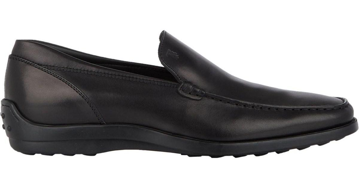 05484269076 Lyst - Tod s Quinn Venetian Loafers in Black for Men