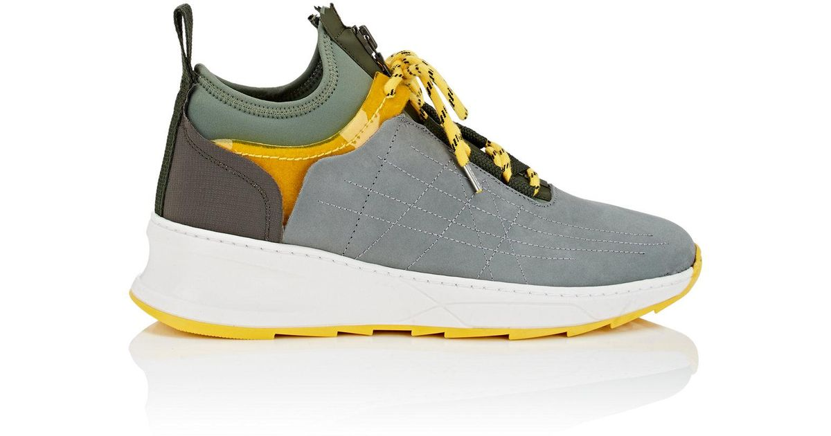 Filling Pieces Green Inner Circle 'Deconstructed' Shark Sneakers AGFH1rOF