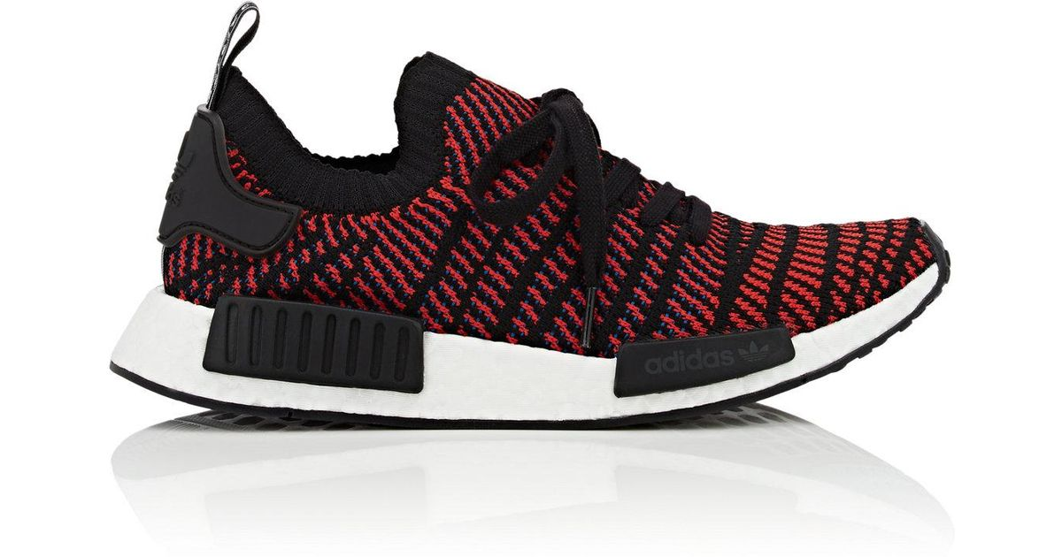 db1991c58 Lyst - adidas Nmd r1 Stlt Pk Primeknit Black red Solid-blue Running Shoes  Cq2385 for Men