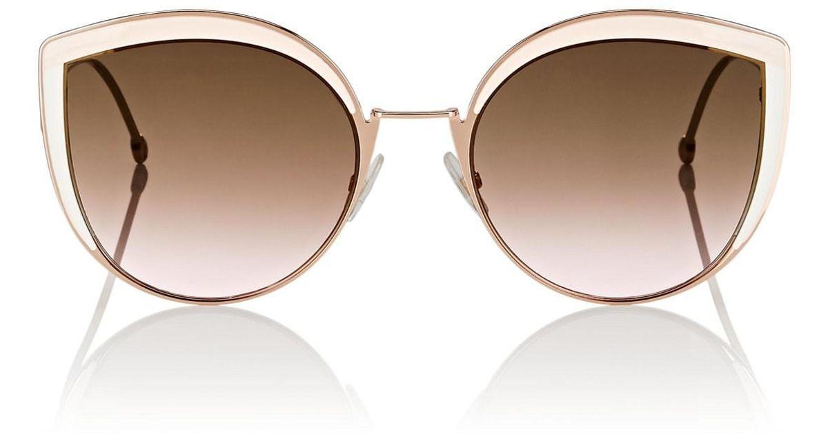 1dc235e8770c Fendi Ff 0290 Sunglasses in Brown - Lyst