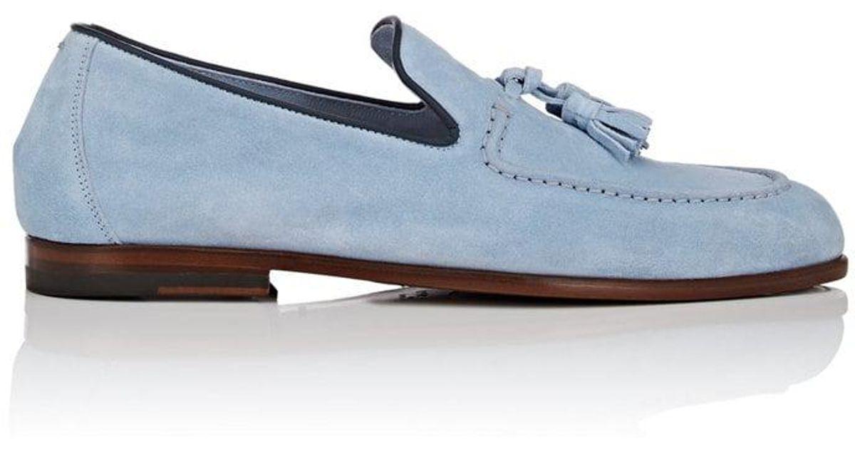 buy online 680af 105dc harrys-of-london-Lt-Blue-Adrian-Tassel-embellished-Suede-Loafers.jpeg