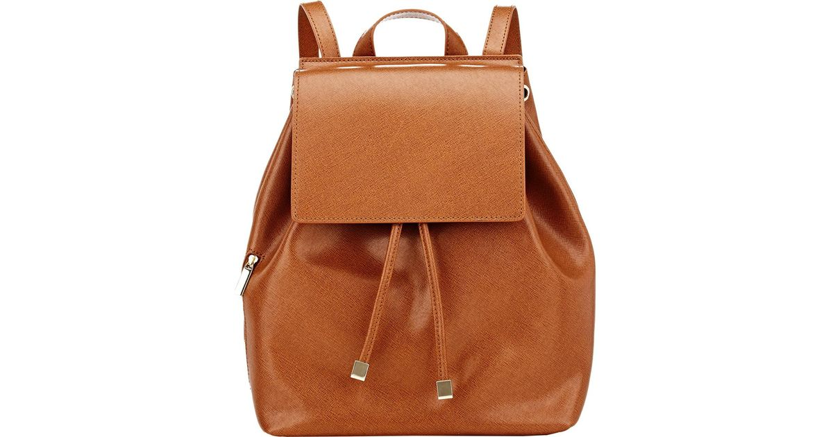 eddf7c1c412a Lyst - Barneys New York India Mini Backpack in Brown