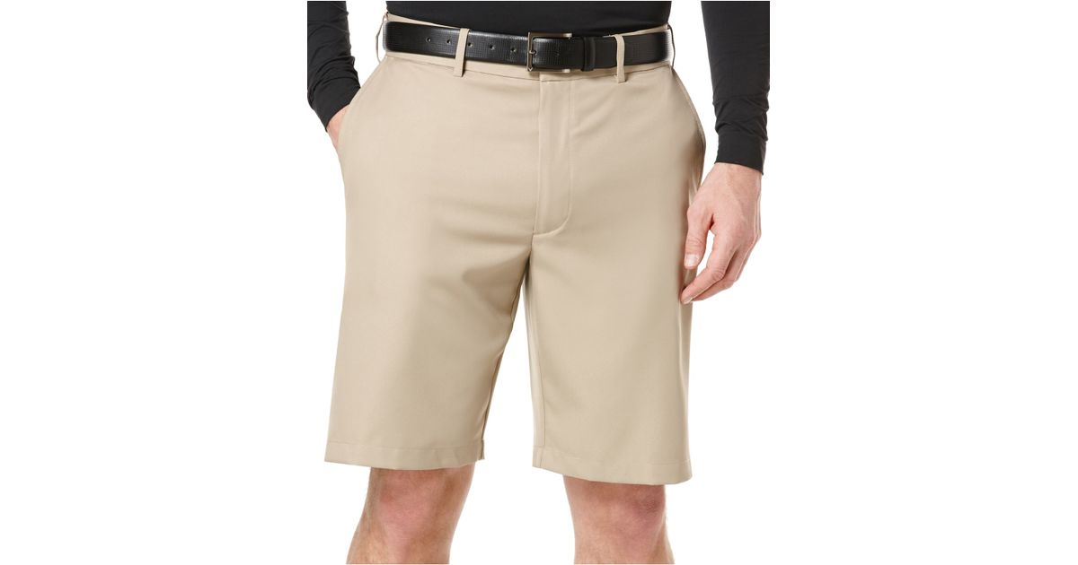 Pga tour Expandable-waist Performance Golf Shorts in Natural for ...