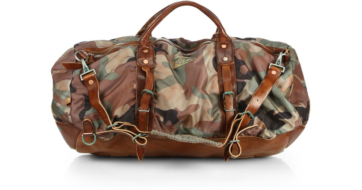 218c12356df6 ... clearance lyst polo ralph lauren yosemite nylon duffel bag in green for  men e8663 a6e05