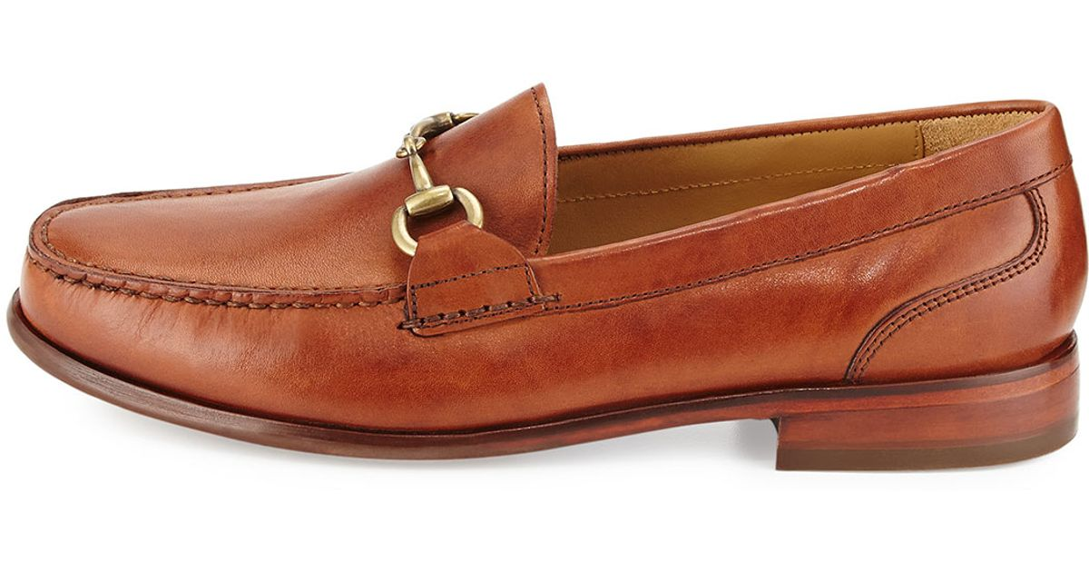 06a482beaa4 Cole Haan Fairmont Horsebit Leather Loafer in Brown - Lyst