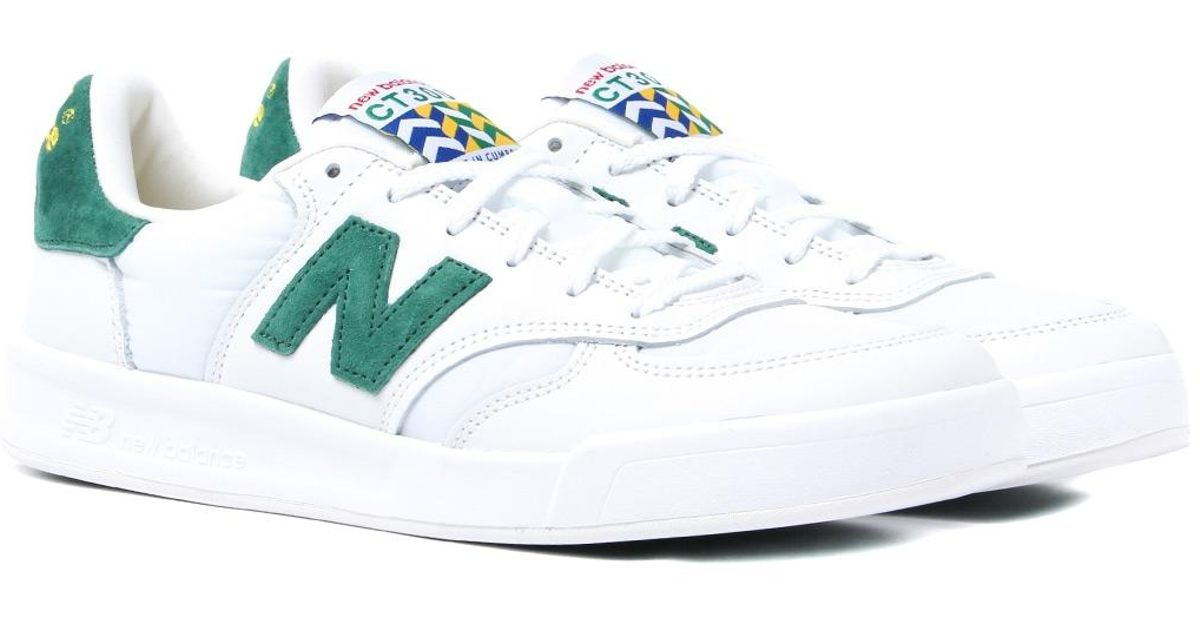 authentic white and green new balance fcca0 9dc66