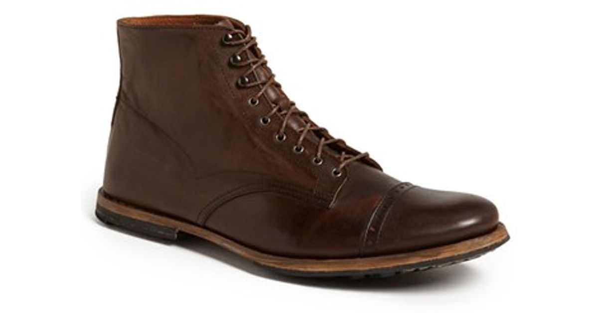 80b89c9cbc22 Lyst - Timberland Boot Company  wodehouse  Cap Toe Boot in Brown for Men