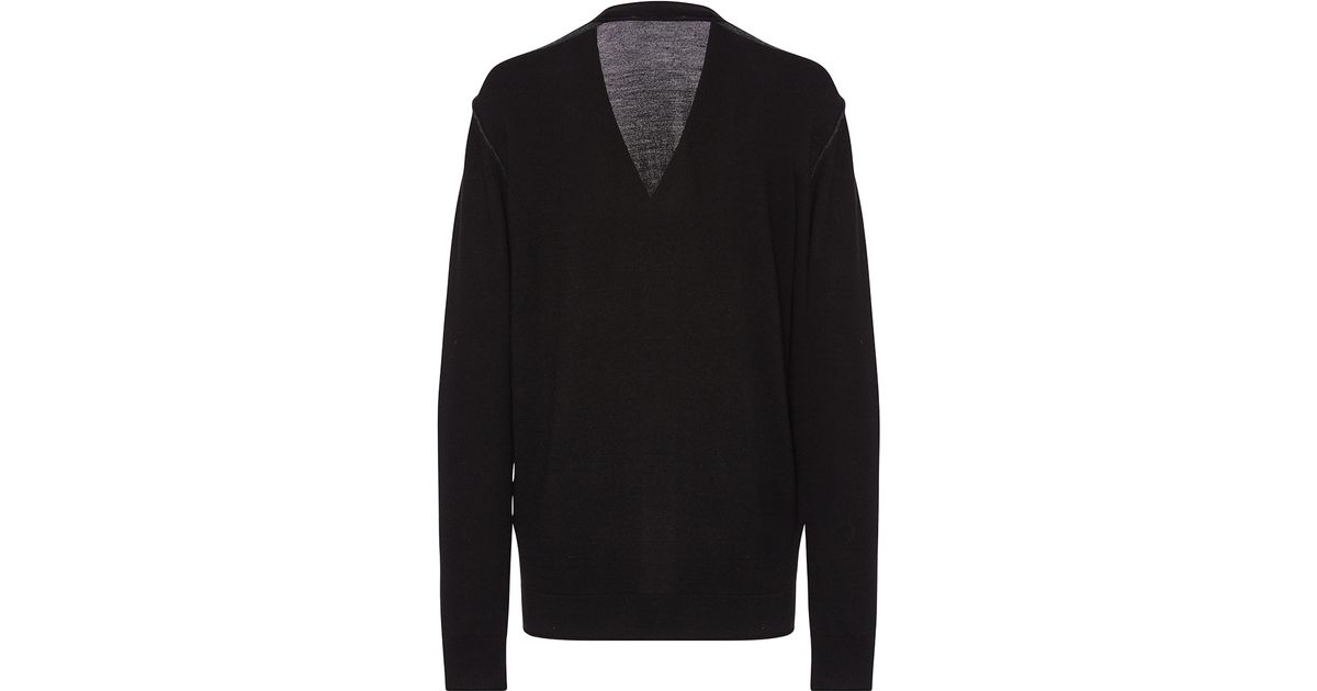 Sonia rykiel Hand Embroidered Boyfriend Cardigan in Black | Lyst