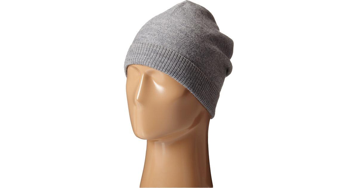 Lyst - Scotch   Soda Beanie In Felted Wool in Gray for Men c09fed820ee