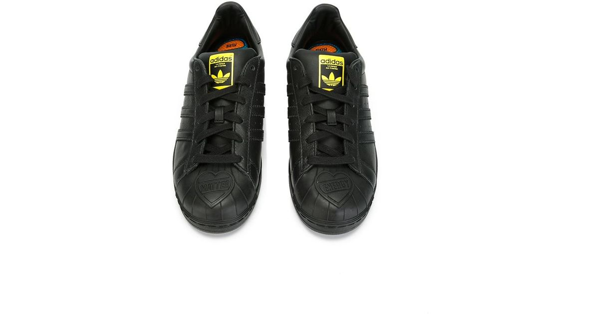 promo code a59b4 c2be5 adidas Originals Superstar Pharrell Supershell Sneakers in Black - Lyst