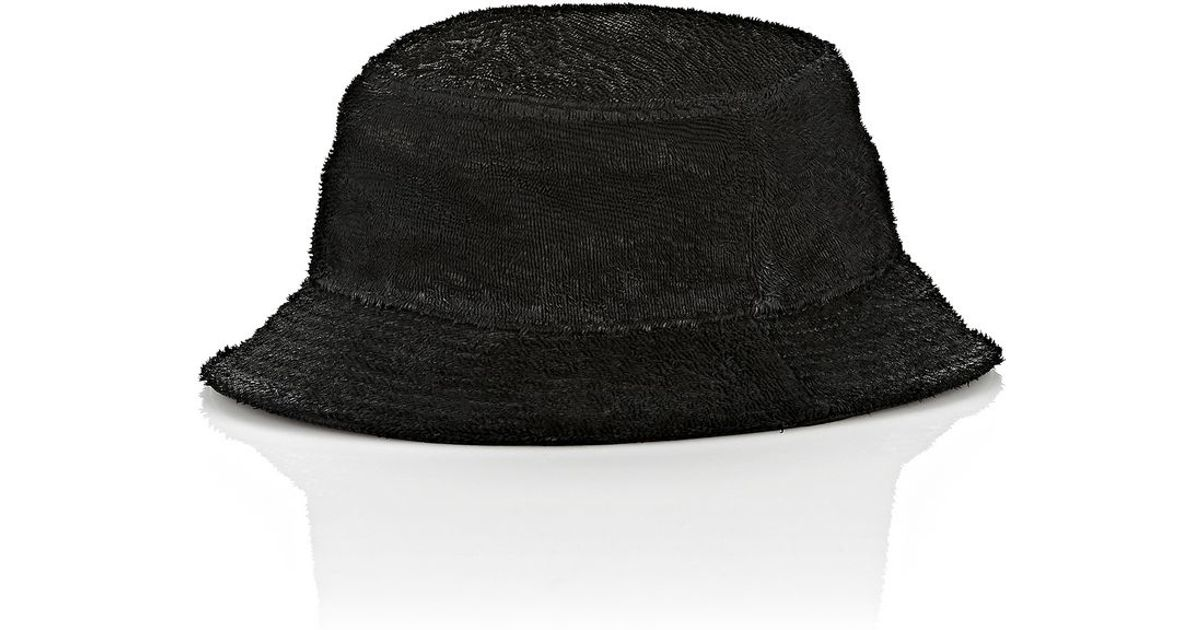 Lyst - Alexander Wang Leather Bucket Hat in Black for Men 25d8ef4374b3