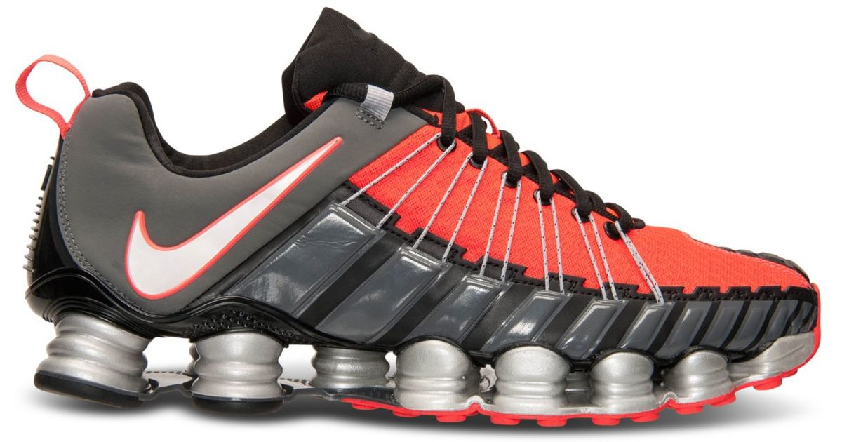 3d378b2e64a Lyst - Nike Men s Total Shox Running Sneakers From Finish Line in Gray for  Men