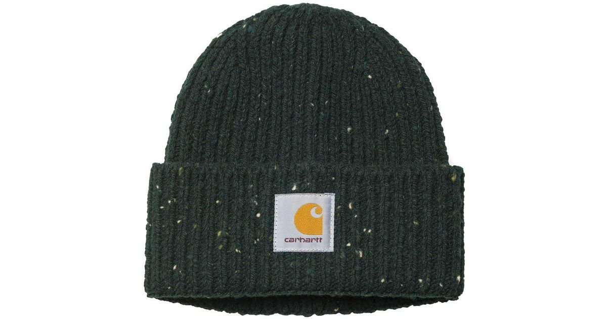Lyst - Carhartt WIP Anglistic Beanie in Green for Men df12cca11c3