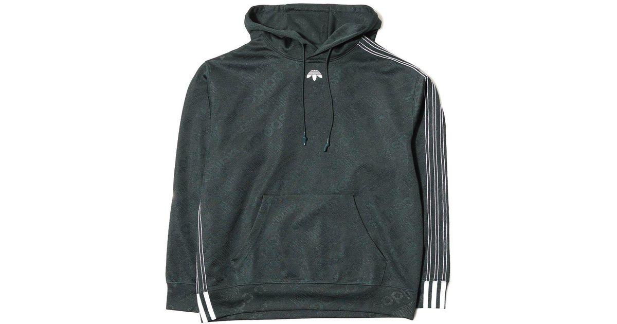 Aw For Men Lyst Adidas Originals Green Jacquard Hood HqqUzwf