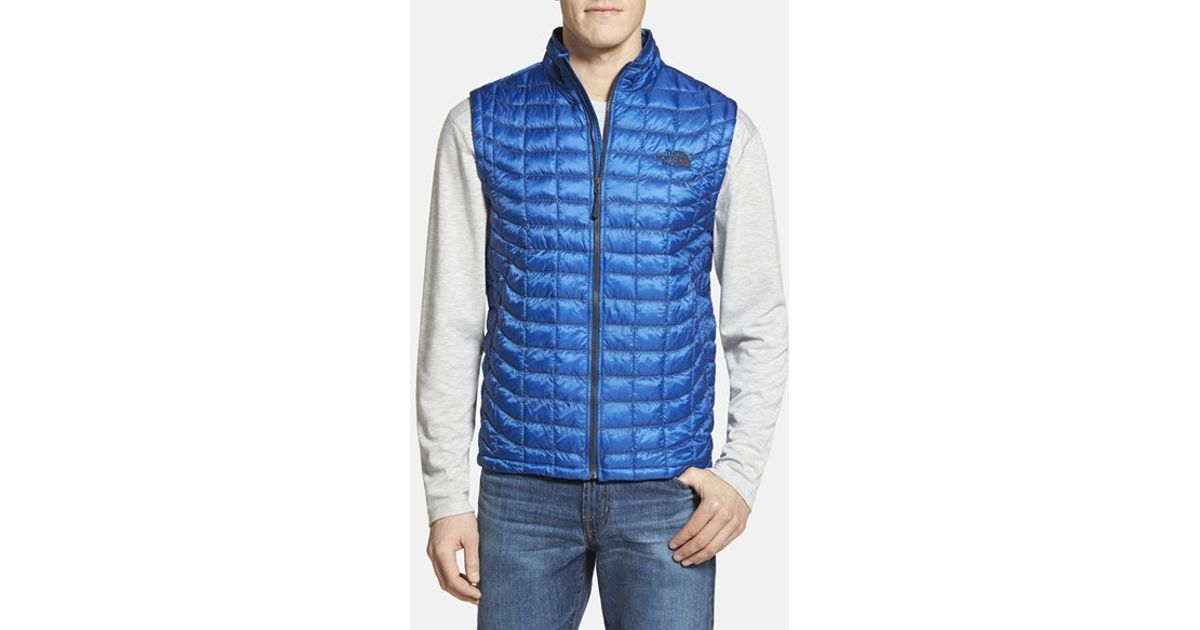 db7822dbf The North Face 'thermoball' Packable Primaloft Vest, Blue for men