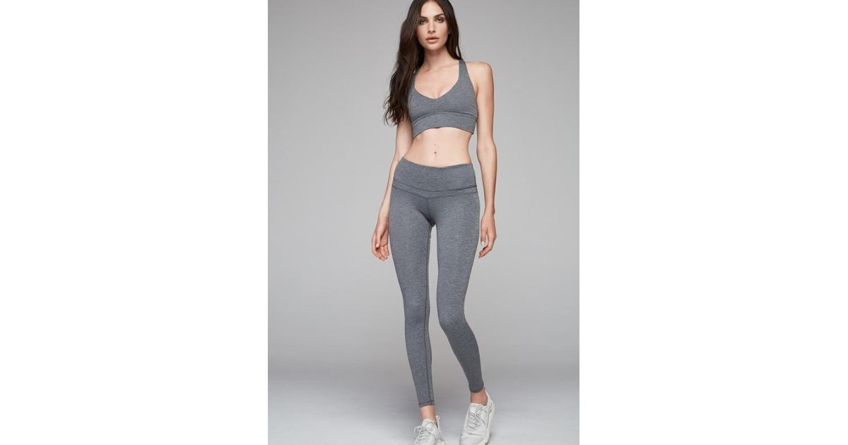Lyst - Varley Union Dove Heather Leggings in Gray e826cd8aa8a4