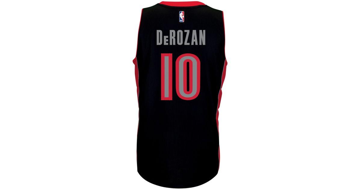 1a17906d31c Lyst - adidas Men s Demar Derozan Toronto Raptors Swingman Jersey in Black  for Men