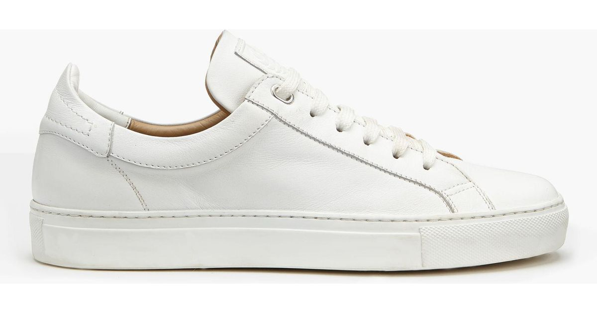 ce4b2560bd911 Belstaff Dagenham Low-top Sneakers in White for Men - Lyst