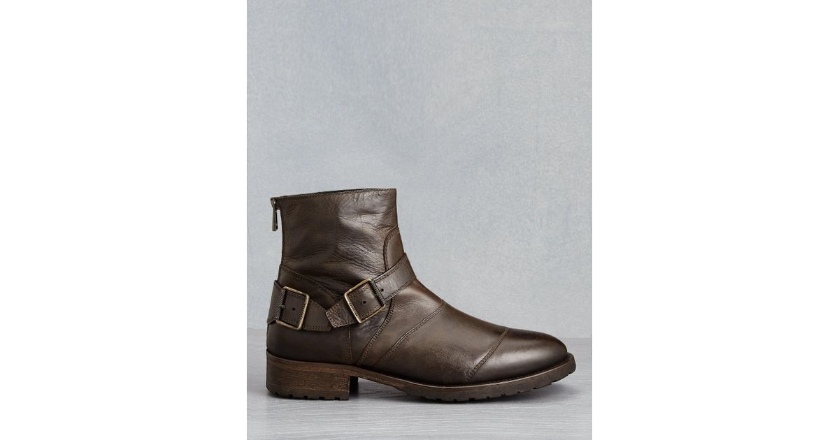 4746e6fe04ca0 Lyst - Belstaff Trialmaster Boots in Brown